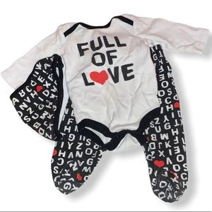Matching set for babies 3-6 months